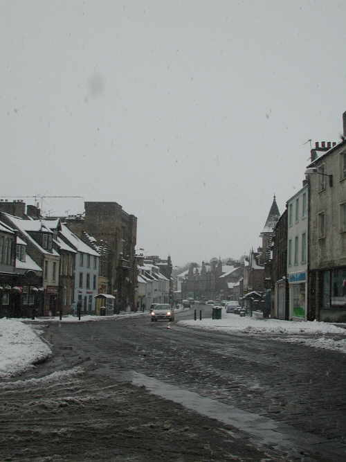 Linlithgow High Street photo